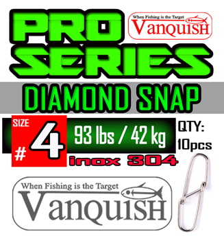 Picture of VANQUISH DIAMOND SNAP INOX