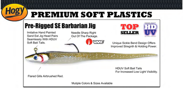 "Picture of HOGY SE BARBARIAN 9"" JIG EEL HDUV 112gr"