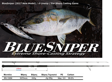 Picture of YAMAGA BLANKS BLUESNIPER 100M
