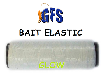 Picture of GFS BAIT ELASTIC GREEN GLOW 0,1mm X 50m.