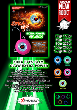Picture of X-PARAGON ZOKA EYES SLIM GLOW EXTRA POWER 190gr