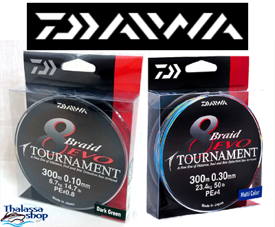 Test DAIWA Tournament Evo 0,26mm