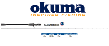 Picture of OKUMA MAGDA TAI RUBBER 2,03m. /  30-170gr