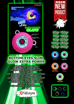 Picture of X-PARAGON BOTTOM EYES SLIM GLOW EX. POWER 125 gr