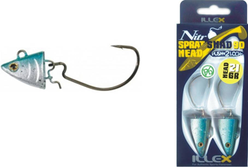 Picture of ILLEX NITRO SPRAT SHAD HEAD 90