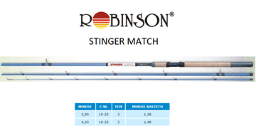 Picture of ΚΑΛΑΜΙ ROBINSON STINGER MATCH 3τεμ.