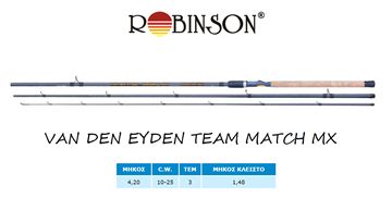 Εικόνα της ΚΑΛΑΜΙ ROBINSON VAN DEN EYNDE TEAM MATCH MX