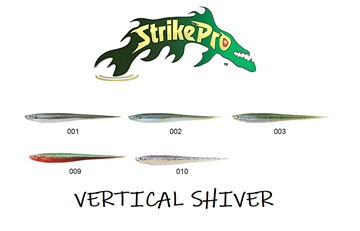 Picture of Σιλικόνες Ψαρέματος Strike Pro Vertical Shiver SPS-22