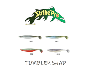 Picture of Σιλικόνες Ψαρέματος Strike Pro Strike Pro Tumbler Shad SPT17