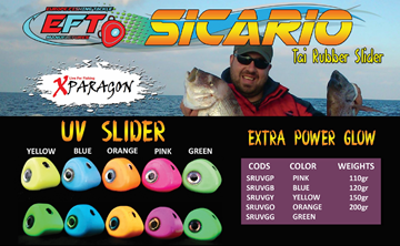 Picture of X-PARAGON SICARIO UV GLOW SLIDER 110gr