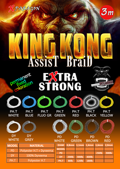 Picture for category KING KONG EXTRA STRONG PD (POLYESTER + DYNNEMA)