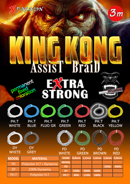 Εικόνα της X-PARAGON KING KONG ASSIST BRAID DY 300LB