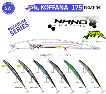 Εικόνα της STRIKE PRO EG-145B (F) KOFFANA FLOATING