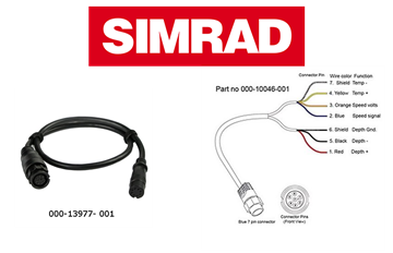 Picture of SIMRAD S2000 ADAPTOR CABLE