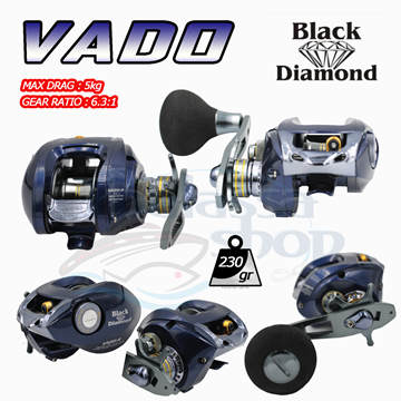 Picture of BLACK DIAMOND ΜΗΧΑΝΙΣΜΟΣ BAITCASTING VADO