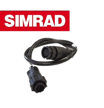Picture of SIMRAD 9PIN BLACK to 7PIN BLUE Adapter FOR CHIRP XDSR