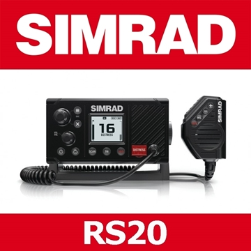 Picture of SIMRAD VHF RS20S .ΕΝΣΩΜΑΤΩΜΕΝΟ GPS