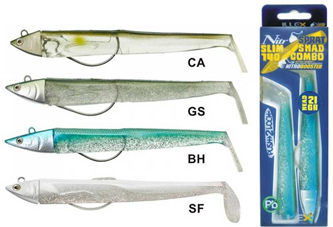 Picture for category COMBO NITRO SPRAT SLIM SHAD