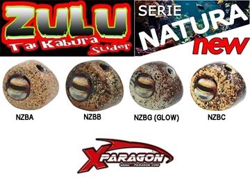 Εικόνα της X-PARAGON ZULU SLIDER NATURA HEADS 125 gr