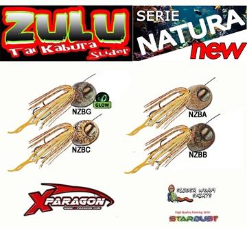 Picture of X-PARAGON ZULU SLIDER NATURA SET125 gr