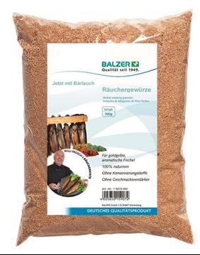 Picture of Πριονίδια για Καπνιστά Bear's Garlic Spiced Wood Chips Balzer 198700-005