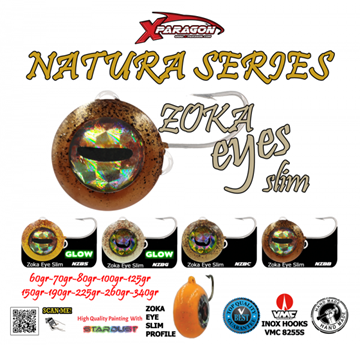 Picture of X-PARAGON ZOKA EYES SLIM NATURA 125gr