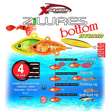 Εικόνα της X-PARAGON  Zi LURES BOTTOM ZOKA 240gr