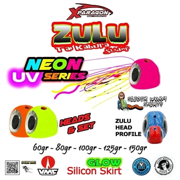 Picture of X-PARAGON ZULU SLIDER UV NEON SET150gr