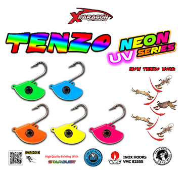 Εικόνα της X-PARAGON TENZO ZOKA TENYA UV NEON 150GR