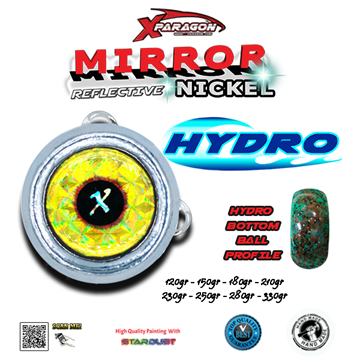 Picture of X-PARAGON BOTTOM HYDRO MIRROR NICKEL 330GR