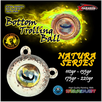 Picture of X-PARAGON BOTTOM TROLLING BALL NATURA 135GR
