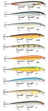 Picture of RAPALA SCATTER RAP MINNOW 11cm SCRM11