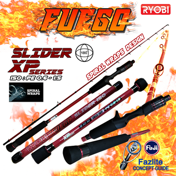 Picture of ΚΑΛΑΜΙ RYOBI FUEGO SLIDER XP SERIES 2.10/150gr