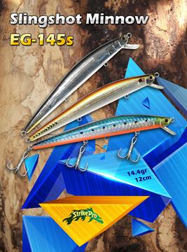 Εικόνα της Strike Pro Slingshot Minnow EG145S