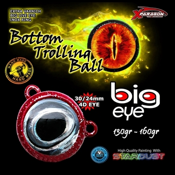 Picture of X-PARAGON BIG EYE TROLLING BALL 160gr