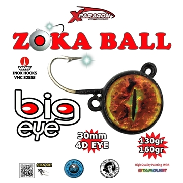 Picture of X-PARAGON ZOKA BALL BIG EYE 130-160g