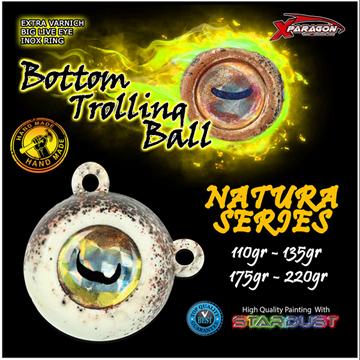 Εικόνα της X-PARAGON BOTTOM TROLLING BALL NATURA 110 - 220g