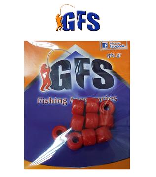 Picture of ΧΑΝΔΡΕΣ GFS 6mm ΚΟΚΚΙΝΕΣ