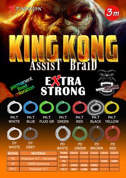 Εικόνα της X-PARAGON KING KONG ASSIST BRAID PD 300LB