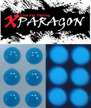 Εικόνα της X-PARAGON EYES FLUO-GLOW BLUE 9304
